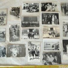 Fotografía antigua: LOTE DE 18 FOTOGRAFÍAS ANTIGUAS SIN CLASIFICAR N.6. Lote 133210894