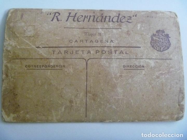 Fotografía antigua: FOTO DE ESTUDIO DE MILITAR DE INFANTERIA DE MARINA . DE RICARDO HERNANDEZ, CARTAGENA , AÑOS 20 - Foto 2 - 133570754