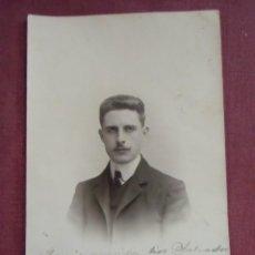 Fotografía antigua: VALENCIA.FOTO A.GARCIA.FOTO-POSTAL,REVERSO SIN DIVIDIR,HACIA 1900.. Lote 133673842