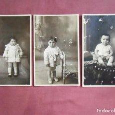 Fotografía antigua: JATIVA(VALENCIA)FOTOS ELISEO VILA.RETRATOS DE NIÑOS,HACIA 1915.. Lote 133674626