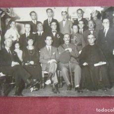 Fotografía antigua: CARTAGENA(MURCIA)FOTO ALFONSO IZQUIERDO.AUTORIDADES CIVILES-MILITARES-ECLESIASTICAS,HACIA 1920.. Lote 133675542