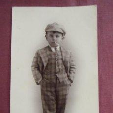 Fotografía antigua: MURCIA.FOTO MATEO.LOS INICIOS DE ALCAPONE,FECHADA 17/1/1929.. Lote 133675758