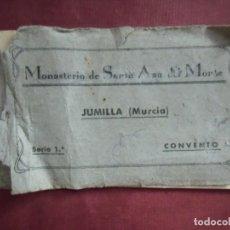 Fotografía antigua: JUMILLA(MURCIA)MONASTERIO DE SANTA ANA DEL MONTE,SERIE 1ª-CONVENTO.FOTOS BAÑOS,HACIA 1910.. Lote 133676070
