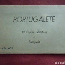 Fotografía antigua: PORTUGALETE(VIZCAYA)ALBUM DE 10 POSTALES ARTISTICAS EN FOTOGRAFIA,ED.MANIPEL,HACIA 1948.. Lote 133676434