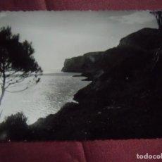 Fotografía antigua: DENIA(ALICANTE)POSTAL S/C SIN EDITOR,COVA TALLÁ Y CABO SAN ANTONIO.. Lote 133677346