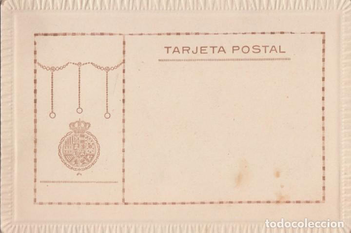 Fotografía antigua: Preciosa fotografía Tarjeta Postal. Anda. Virgen Inmaculada Concepción con ángeles y flores Años 20 - Foto 2 - 133737814