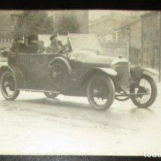 Fotografía antigua: POSTAL FOTOGRÁFICA DE AUTOMÓVIL FRANCÉS EN LA PRIMERA GUERRA MUNDIAL. 1918.. Lote 134783338