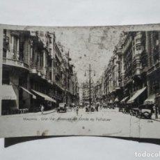 Fotografía antigua: 1936 MADRID GRAN VIA AVENIDA DEL CONDE DE PEÑALVER. Lote 135135426