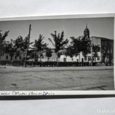 Fotografía antigua: BINÉFAR HUESCA PLAZA DE ESPAÑA. Lote 135138898