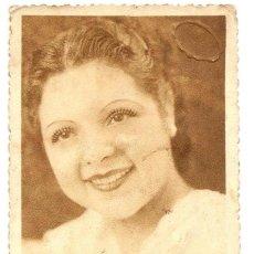 Fotografía antigua: MUJER - FOTO STUDIO - ALCOY (ALICANTE) - FECHADA 1937. Lote 135436466
