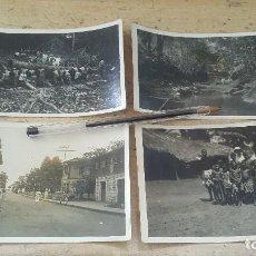 Fotografía antigua: 4 FOTOGRAFIAS DE GUINEA ECUATORIAL ESPAÑOLA, 14 X 9 CM.. Lote 135671575