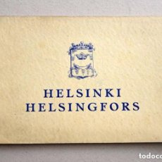 Fotografía antigua: 24 VISTAS HELSINKI HELSINGFORS OTAVAN SYVÄPAINO AÑO 1931. Lote 135716991