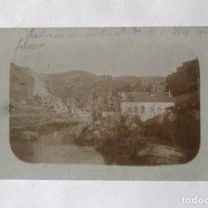 Fotografía antigua: FÁBRICA DE ELECTRICIDAD A ORILLAS DEL JÚCAR. Lote 135807318