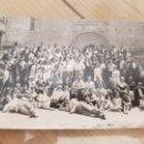 Fotografía antigua: ANTIGUA FOTOGRAFÍA TARJETA POSTAL VALLVE GRUPO ABADÍA MONASTERIO DE SANTES CREUS TARRAGONA . Lote 136019922