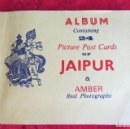 Fotografía antigua: 24 PICTURE POST CARDS OF JAIPUR & AMBER REAL PHOTOGRAPHS. Lote 136311090
