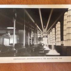 Fotografía antigua: EXPOSICIÓN INTERNACIONAL DE BARCELONA 1929. Lote 137569194