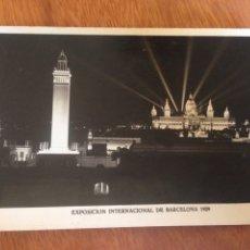 Fotografía antigua: EXPOSICIÓN INTERNACIONAL DE BARCELONA 1929 - NRO103. Lote 137569393