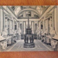 Fotografía antigua: ARANJUEZ: REAL CASA DEL LABRADOR GALERÍA DE ESTATUAS. Lote 137571733