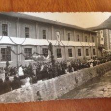 Fotografía antigua: TARJETA POSTAL - CONGREGACIÓN. Lote 137571856