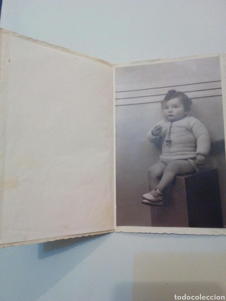 Fotografía antigua: Antigua foto de estudio niño posando - Foto 2 - 138696858