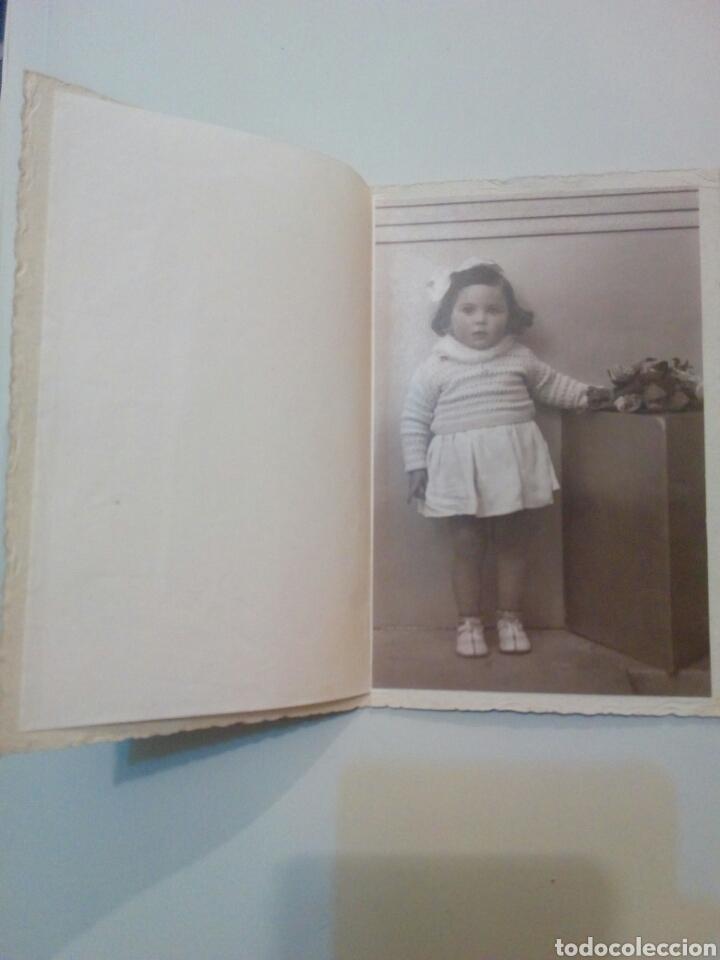 Fotografía antigua: Antigua foto de estudio niña posando - Foto 2 - 138697058