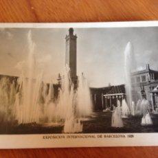 Fotografía antigua: EXPOSICIÓN INTERNACIONAL DE BARCELONA. Lote 138813486