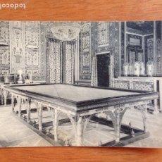 Fotografía antigua: ARANJUEZ: CASA DEL LABRADOR SALÓN DE BILLAR. Lote 138826014