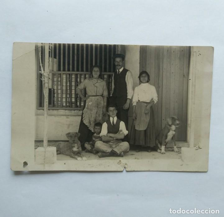 FOTO POSTAL COSTUMBRISTA (Fotografía Antigua - Tarjeta Postal)