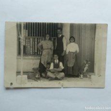 Fotografía antigua: FOTO POSTAL COSTUMBRISTA. Lote 139166586