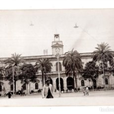 Fotografía antigua: SEVILLA.- C.1925. PLAZA DE SAN FERNANDO. FOTO TOMADA POR TURISTA ITALIANO.. Lote 139750702