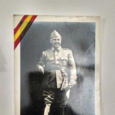 Fotografía antigua: FOTOGRAFÍA POSTAL DEL GENERAL FRANCO.. Lote 139762264