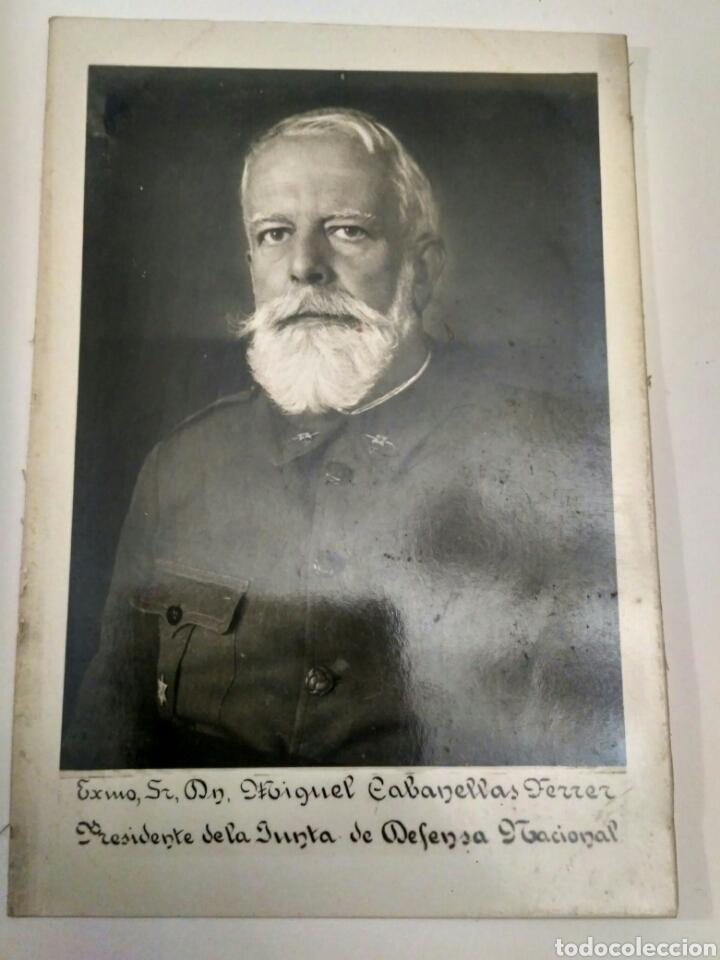 FOTOGRAFÍA POSTAL DE MIGUEL CABANELLAS FERRER. (Fotografía Antigua - Tarjeta Postal)