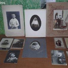 Fotografía antigua: 11 FOTOGRAFÍAS ANTIGUAS. Lote 117497967