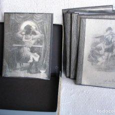 Fotografía antigua: 30 REPRODUCCIONES FOTOGRÁFICAS SOBRE POSTALES DE ÉPOCA. Lote 140192566