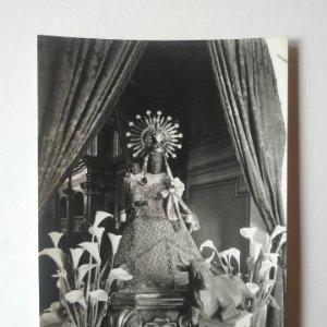 OLOT Nuestra Señora de tura nº47 10 x 15 Fotografia postal Fotógrafo J.Cebollero