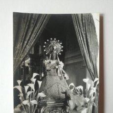 Fotografía antigua: OLOT NUESTRA SEÑORA DE TURA Nº47 10 X 15 FOTOGRAFIA POSTAL FOTÓGRAFO J.CEBOLLERO. Lote 140731518