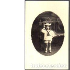 Fotografía antigua: FOTO POSTAL NIÑO. 1920. Lote 89856452