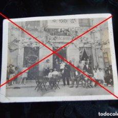 Fotografía antigua: ANTIGUA POSTAL - BAR ALICANTINO. Lote 95999647