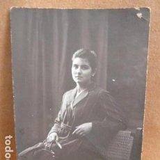 Fotografía antigua: FOTO SEÑORA -FOTO AMER -PALMA DE MALLORCA -. Lote 141970654