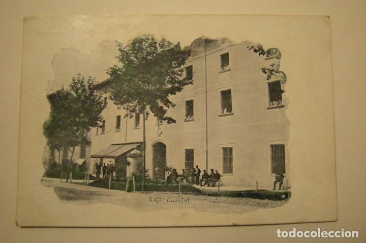 POSTAL DE VICH - CUARTEL EN BUEN ESTADO (Fotografía Antigua - Tarjeta Postal)