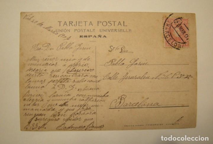 Fotografía antigua: POSTAL DE VICH - CUARTEL EN BUEN ESTADO - Foto 2 - 142825178