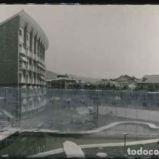 Fotografía antigua: JACA PASEO GENERAL FRANCO POSTAL AÑOS 60. Lote 143385234
