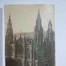 Fotografía antigua: TARJETA POSTAL. IGLESIA DE ARUCAS. AÑO 1925 . Lote 143695170