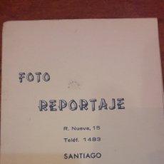 Fotografía antigua: FOTO REPORTAJE SANTIAGO RUA NUEVA 15. Lote 143701014