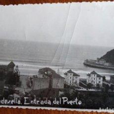 Fotografía antigua: RIBADESELLA. DOS FOTOGRAFÍAS TAMAÑO POSTAL.. Lote 143711198