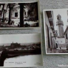 Fotografía antigua: 3 TARJETAS POSTALES ANTIGUAS DE CÓRDOBA. Lote 143741250