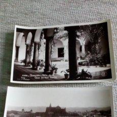 Fotografía antigua: 2 TARJETAS POSTALES ANTIGUAS DE CÓRDOBA. Lote 143741922