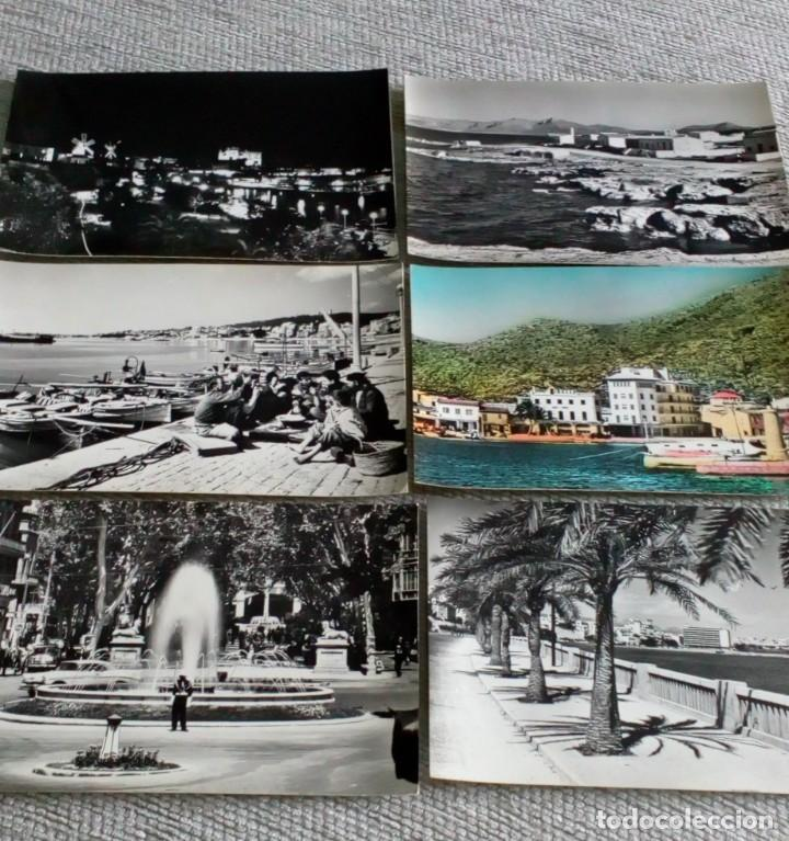 6 TARJETAS POSTALES ANTIGUAS... (Fotografía Antigua - Tarjeta Postal)