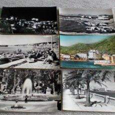 Fotografía antigua: 6 TARJETAS POSTALES ANTIGUAS.... Lote 143760210