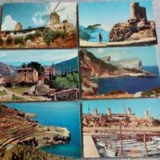 Fotografía antigua: 6 TARJETAS POSTALES ANTIGUAS C Y Z. Lote 143760798